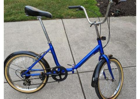 bicycle  folding  adult/children with fenders ;oke new